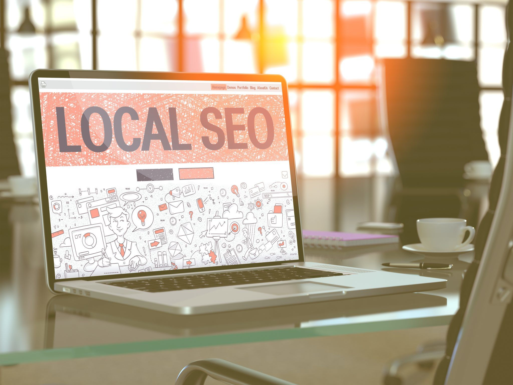 Improve your local SEO by being consistent, searchable, and informative.