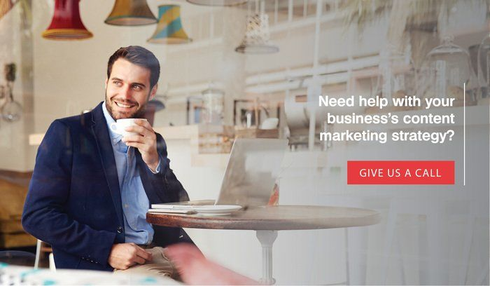 Treefrog Marketing helps small businesses develop a content marketing strategy.
