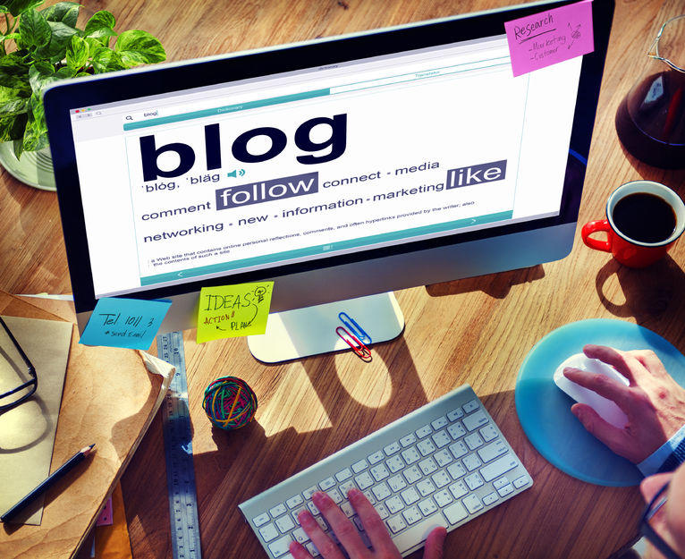 "Wondering ""Should my small business have a blog?"" Statistics point to yes."